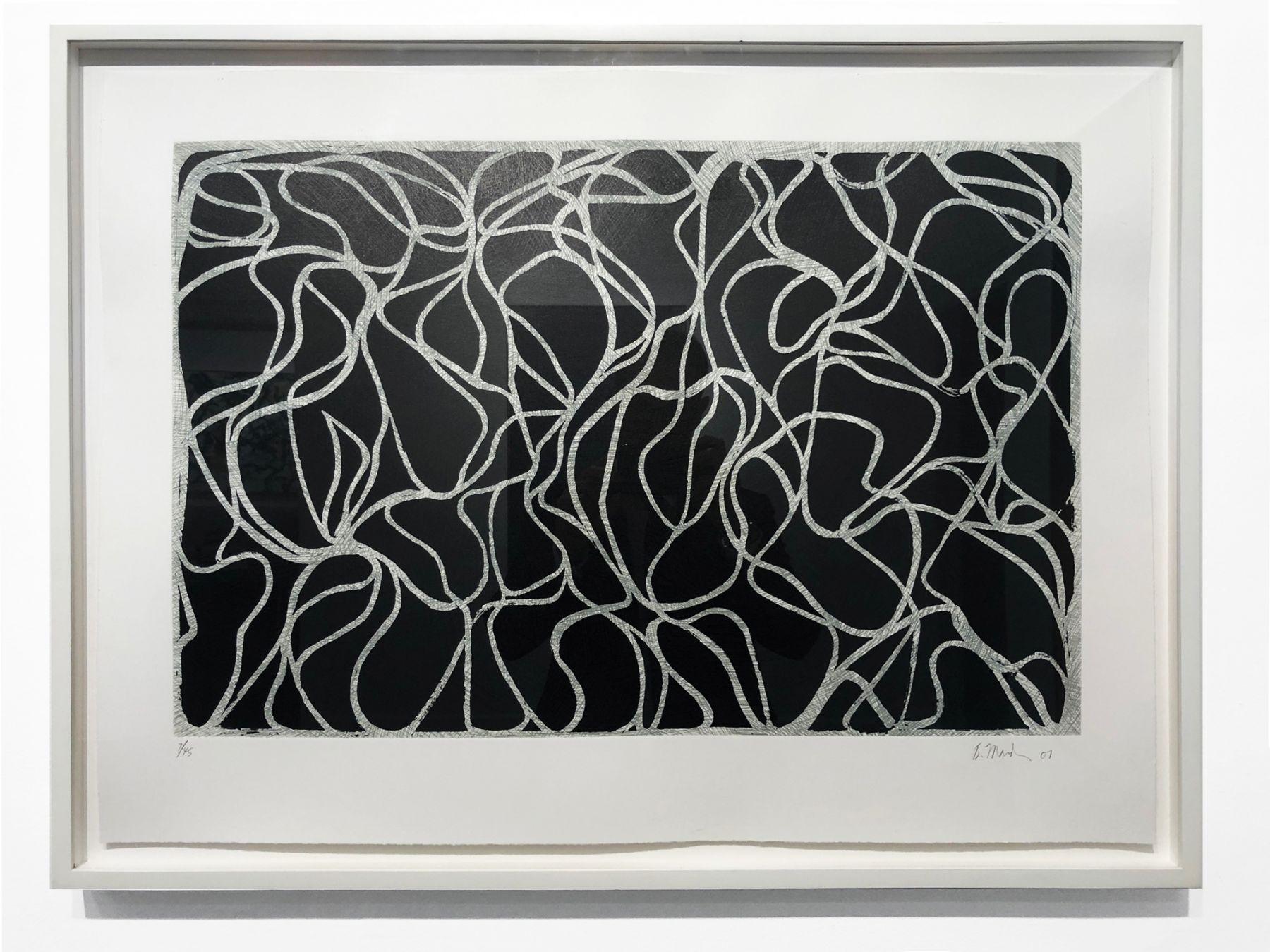 Brice Marden, Line Muses, 2001