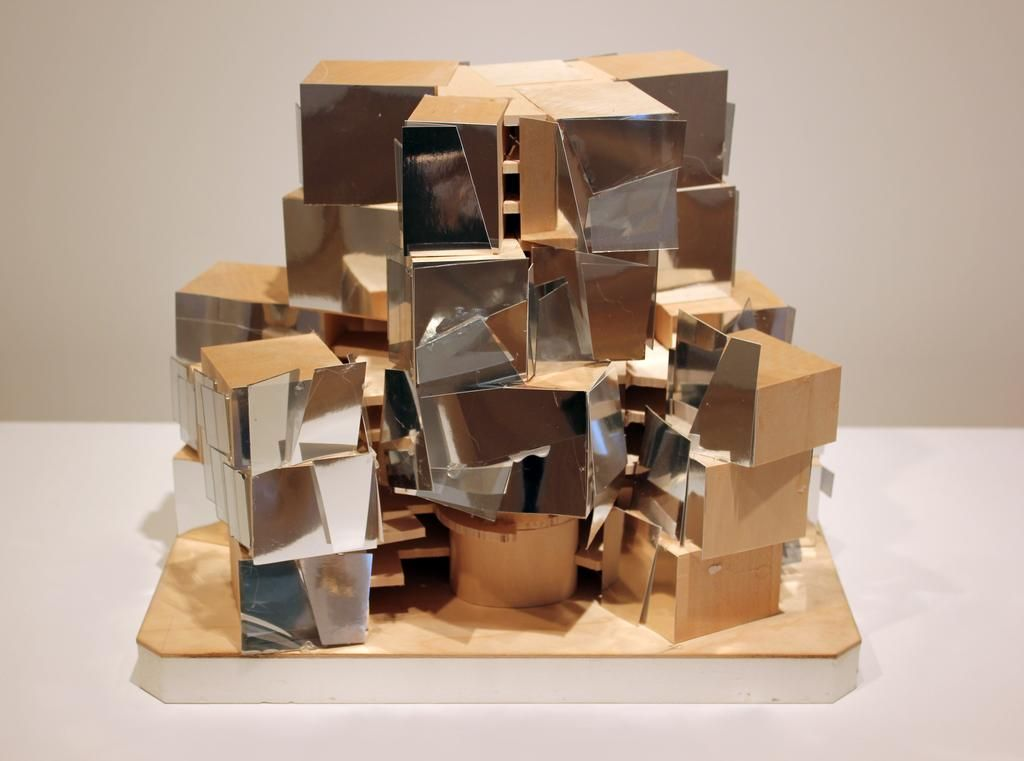 Frank Gehry, Massing Study, 2010