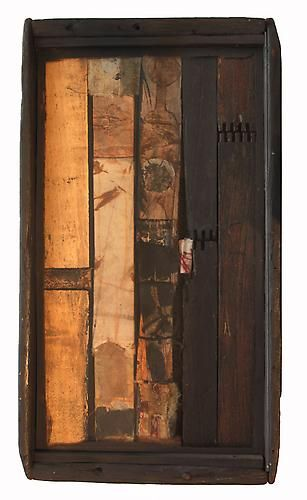 Untitled, 1981 Wood, paper and ink