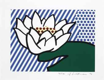 Roy Lichtenstein, Water Lily, 1993