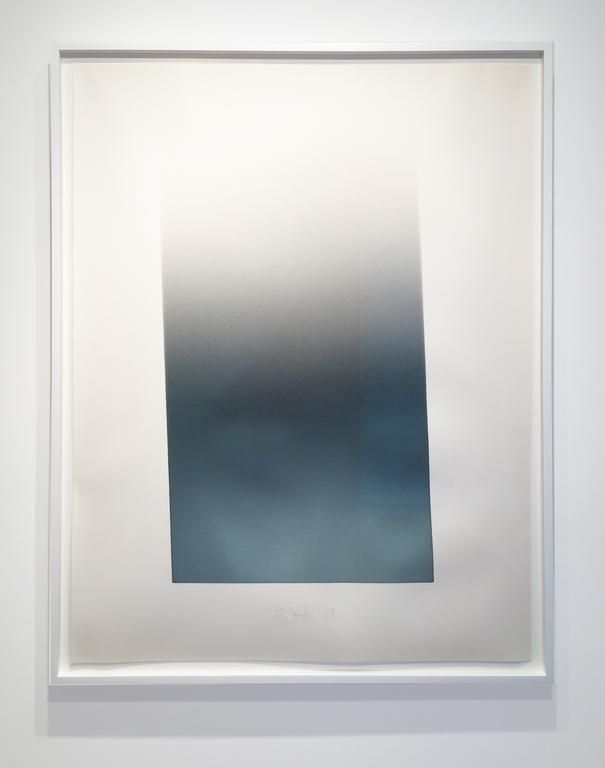 Larry Bell, Untitled (Vapor Drawing), 1979