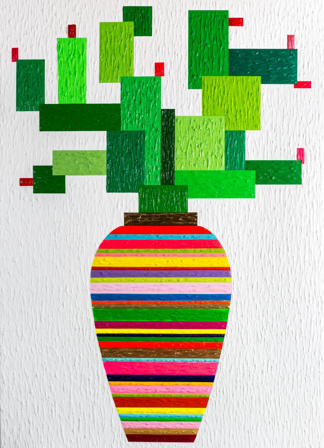 Cactus by Zhenya Xia at Hg Contemporary, founded by Philippe Hoerle-Guggenheim