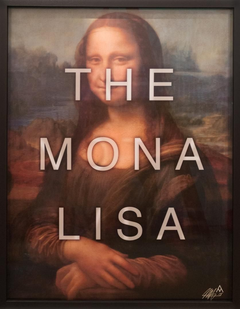 The Mona Lisa by Massimo Agostinelli at HG Contemporary founded by Philippe Hoerle-Guggenheim