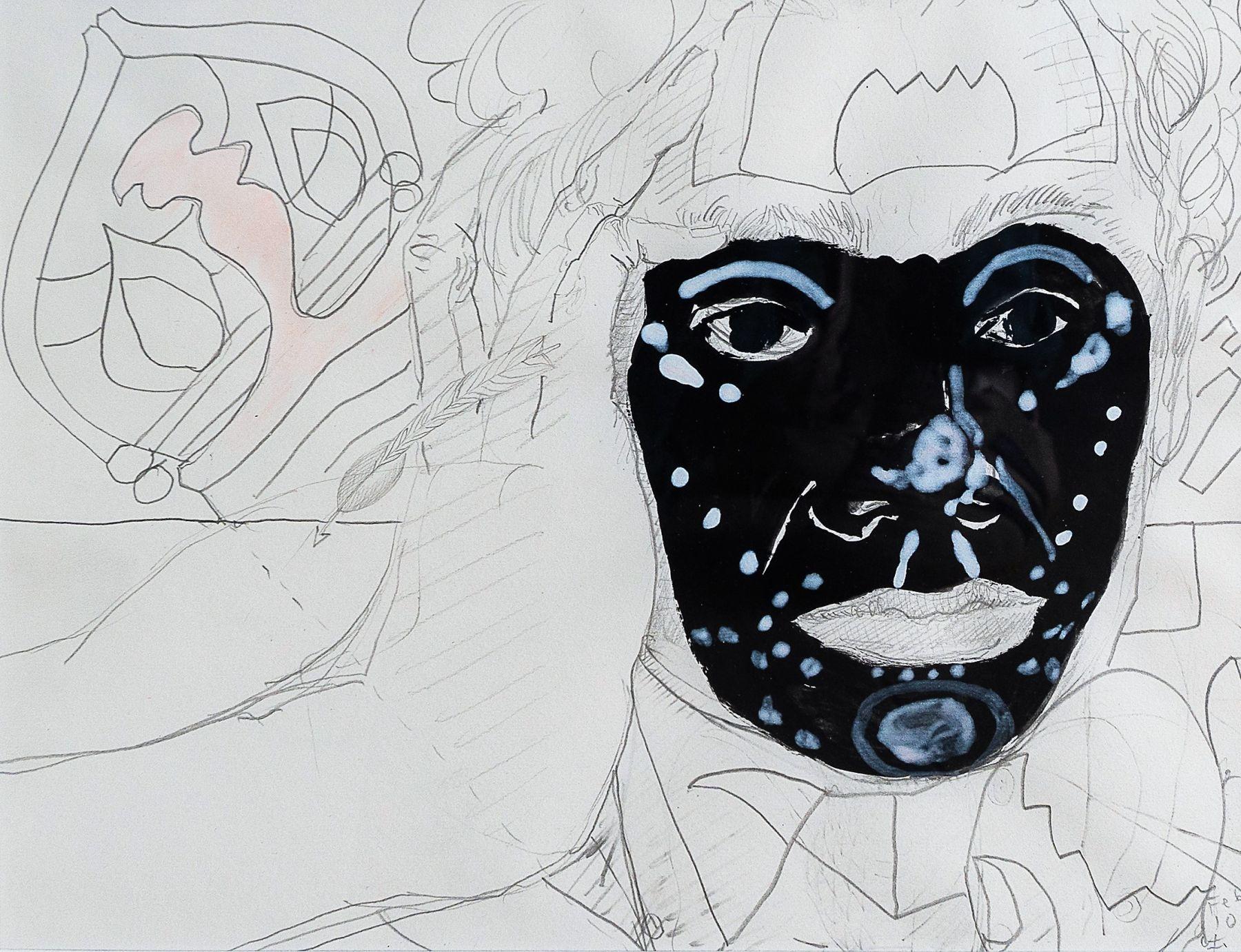 Intercesora from Visto, no vista by Carlos Franco at Hg Contemporary