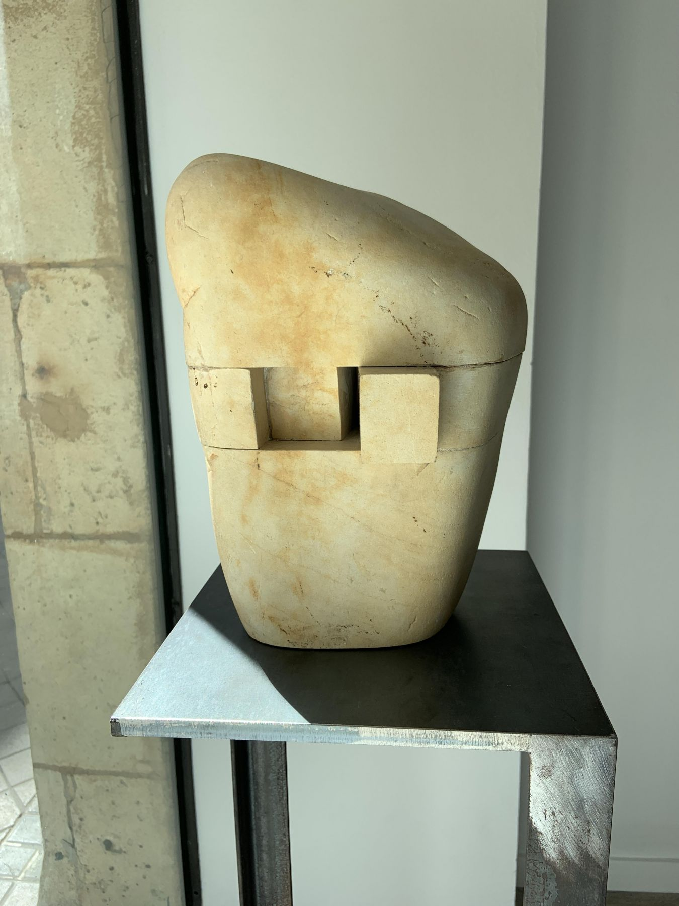 Torso from Piedra Y Algodón by Alberto Bañuelos at Hoerle-Guggenheim Contemporary