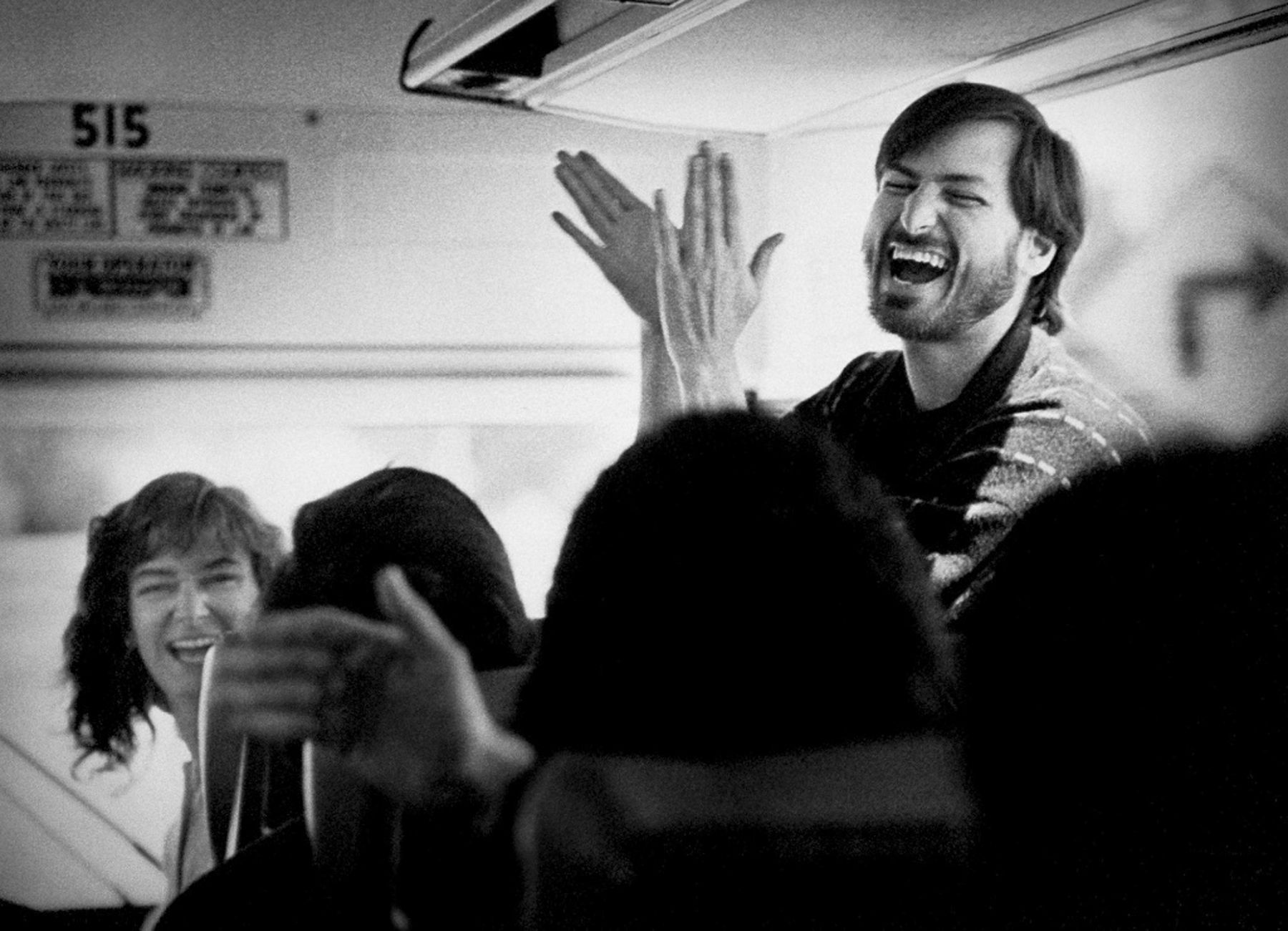 Steve Jobs Returning From a Visit to the New Factory by Doug Menuez