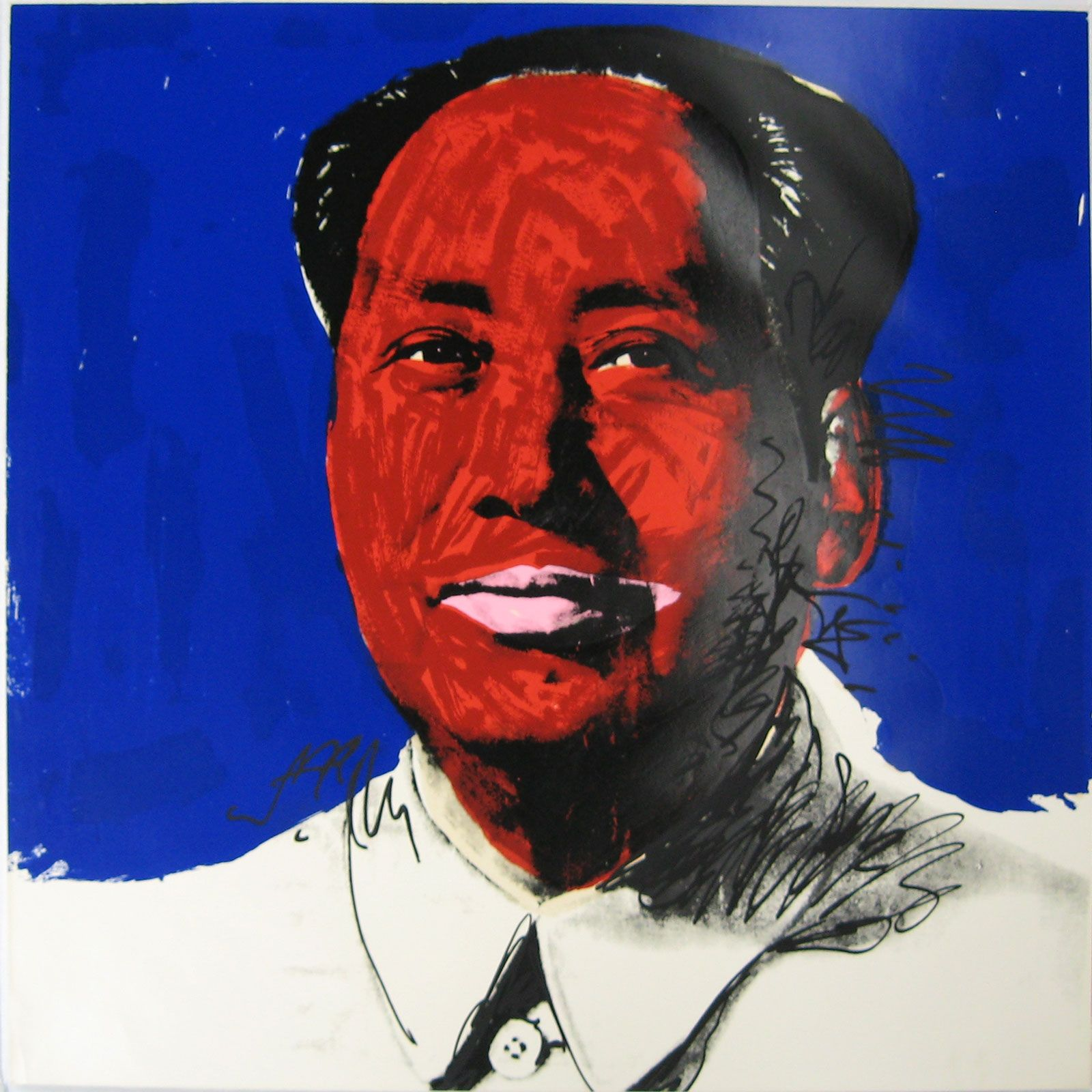 Mao by Andy Warhol at Hg Contemporary gallery