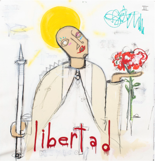 Liberty by Louis Carreon at Hg Contemporary art gallery