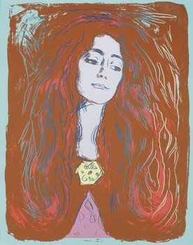 Eva Mudocci by Andy Warhol at Hg Contemporary Art Gallery