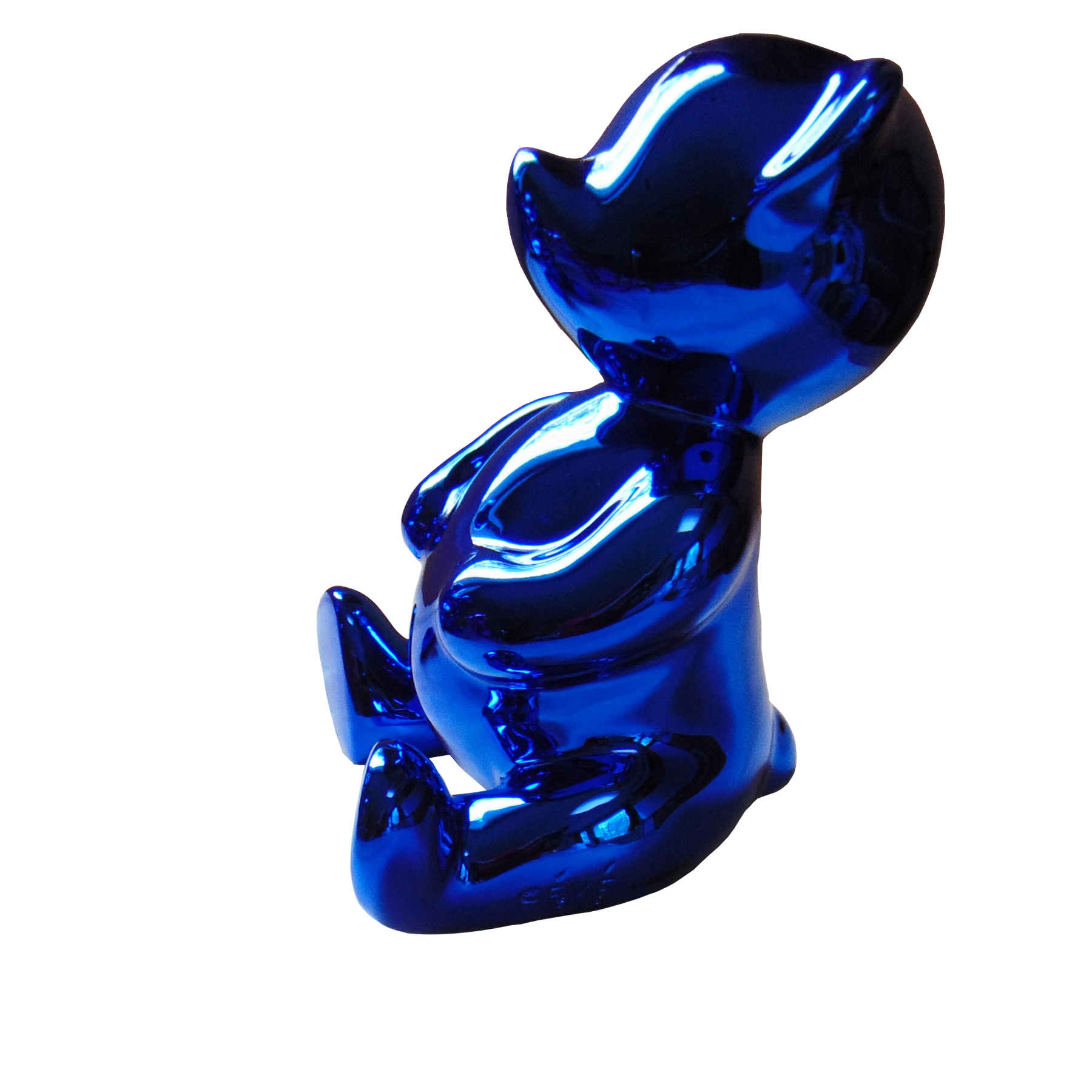 Chubby Blue by Cévé at Hg Contemporary art gallery