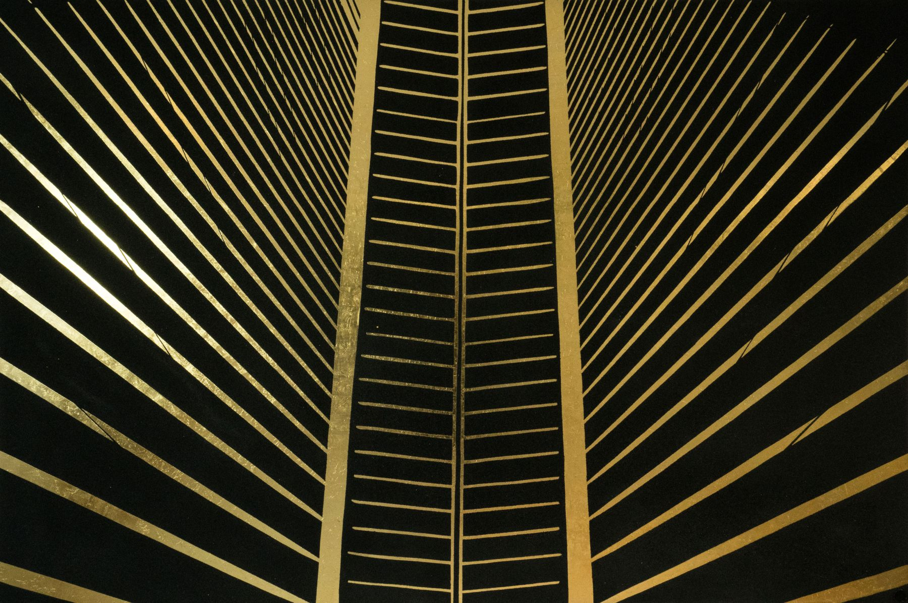 WTC Cathedral Black by Tim Bengel at Hg Contemporary art gallery