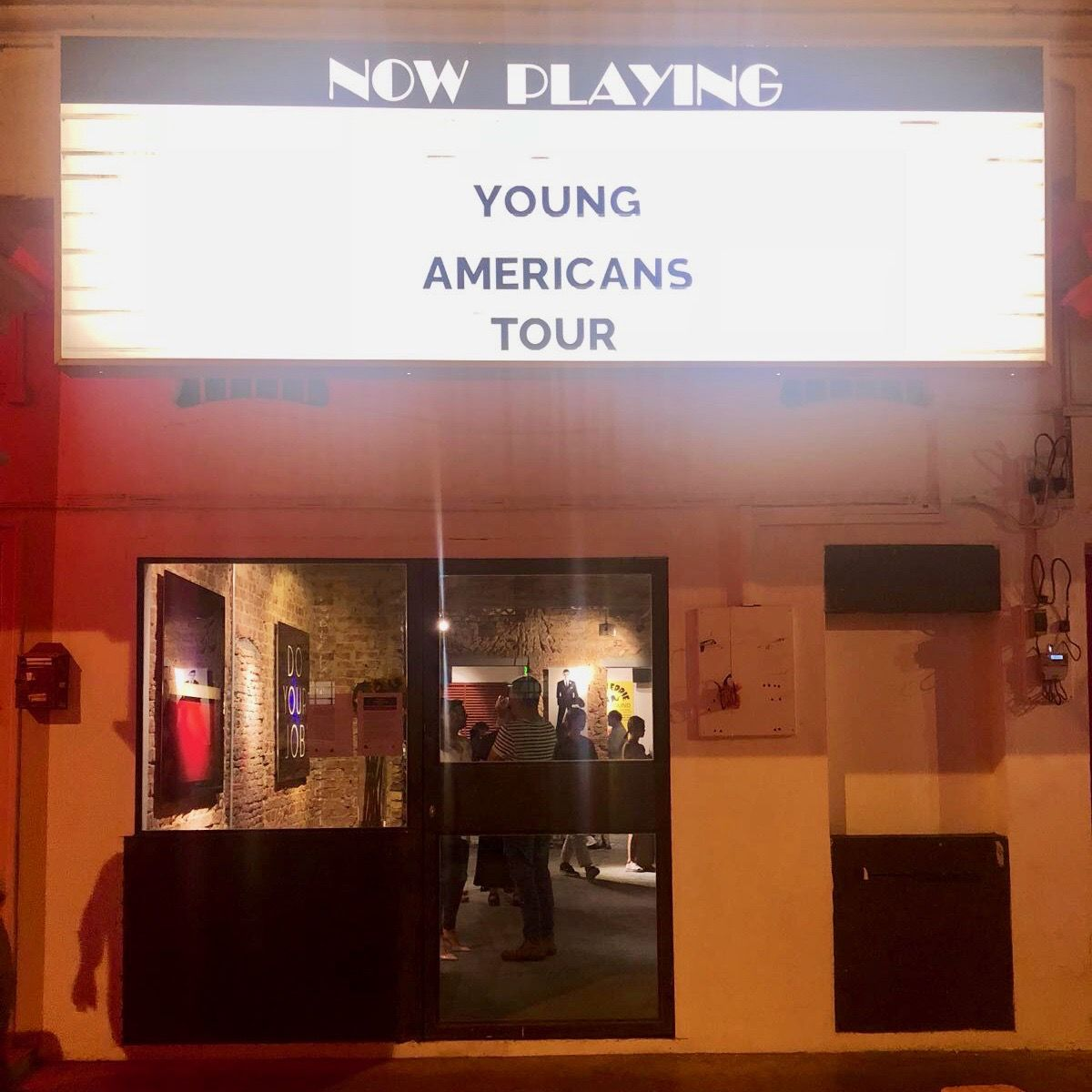Image of Young Americans Tour at Hg Contemporary