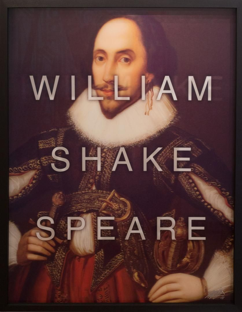 William Shakespeare by Massimo Agostinelli at HG Contemporary founded by Philippe Hoerle-Guggenheim