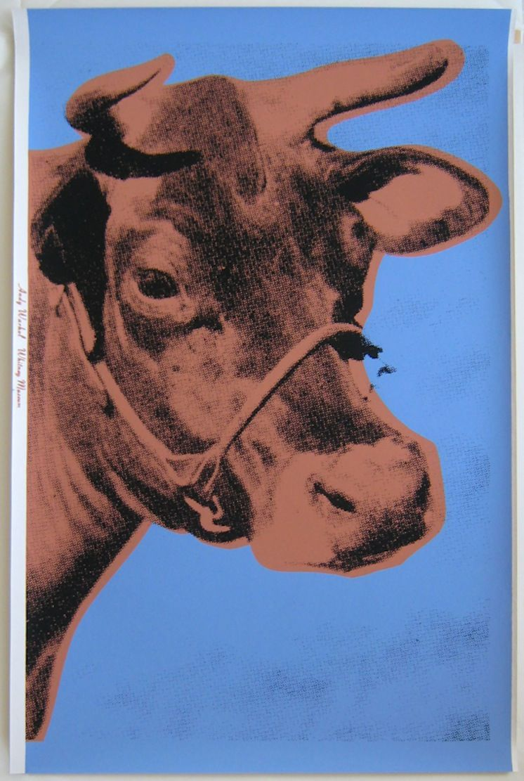 Warhol Cow by Andy Warhol at Hg Contemporary Art Gallery