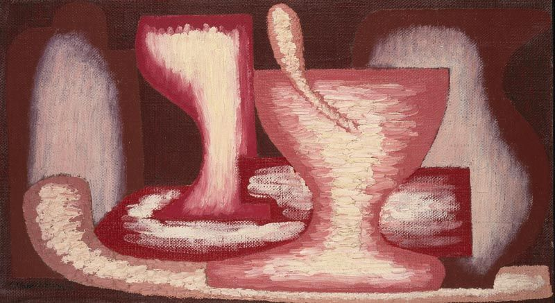 Serge Charchoune, Red Still Life