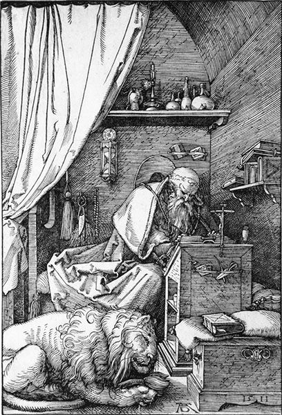 St. Jerome in His Cell, 1511