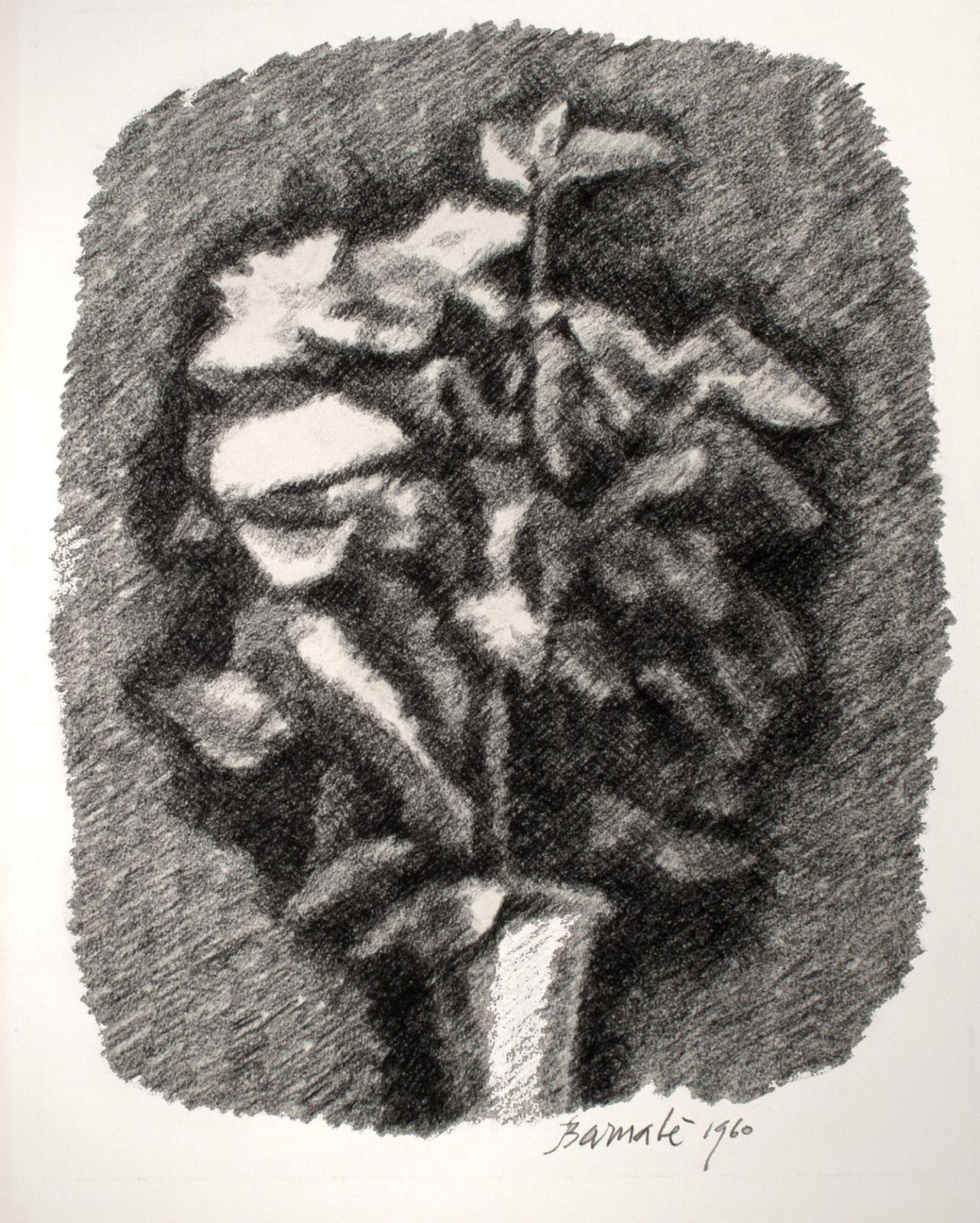 Mazzo di fiori con ombra