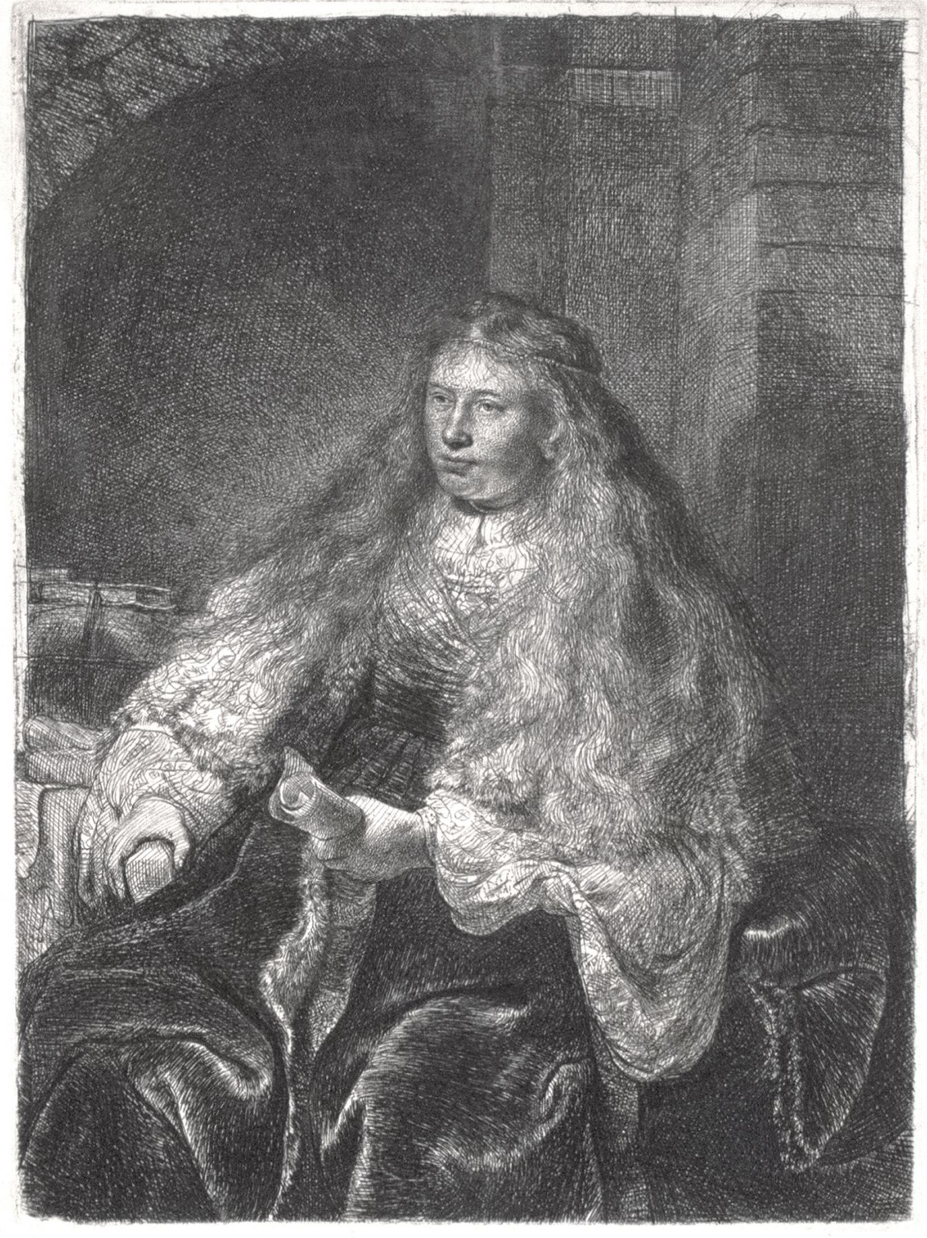 Rembrandt - The Great Jewish Bride
