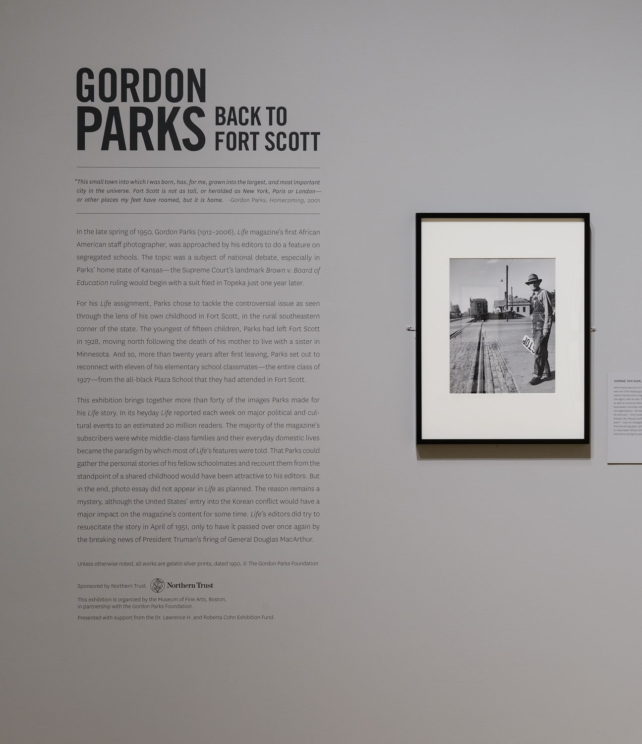 Back to Fort Scott - Exhibitions - The Gordon Parks Foundation