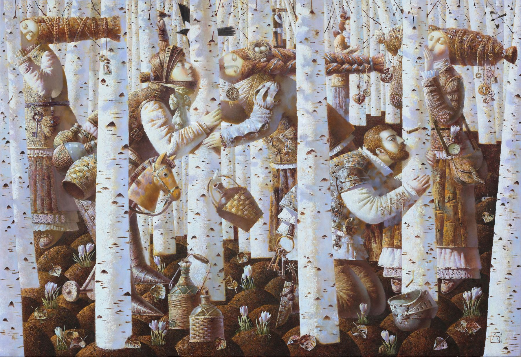 Anna Berezovskaya_Kissing the Birch