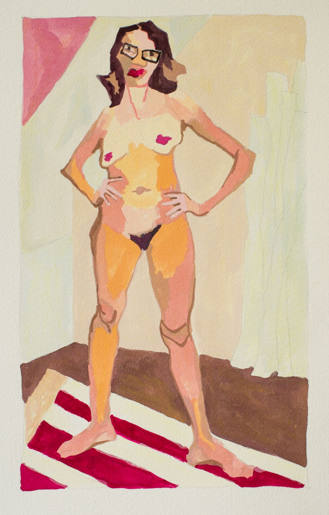 RUTH OWENS, Art Lady (Study), 2017
