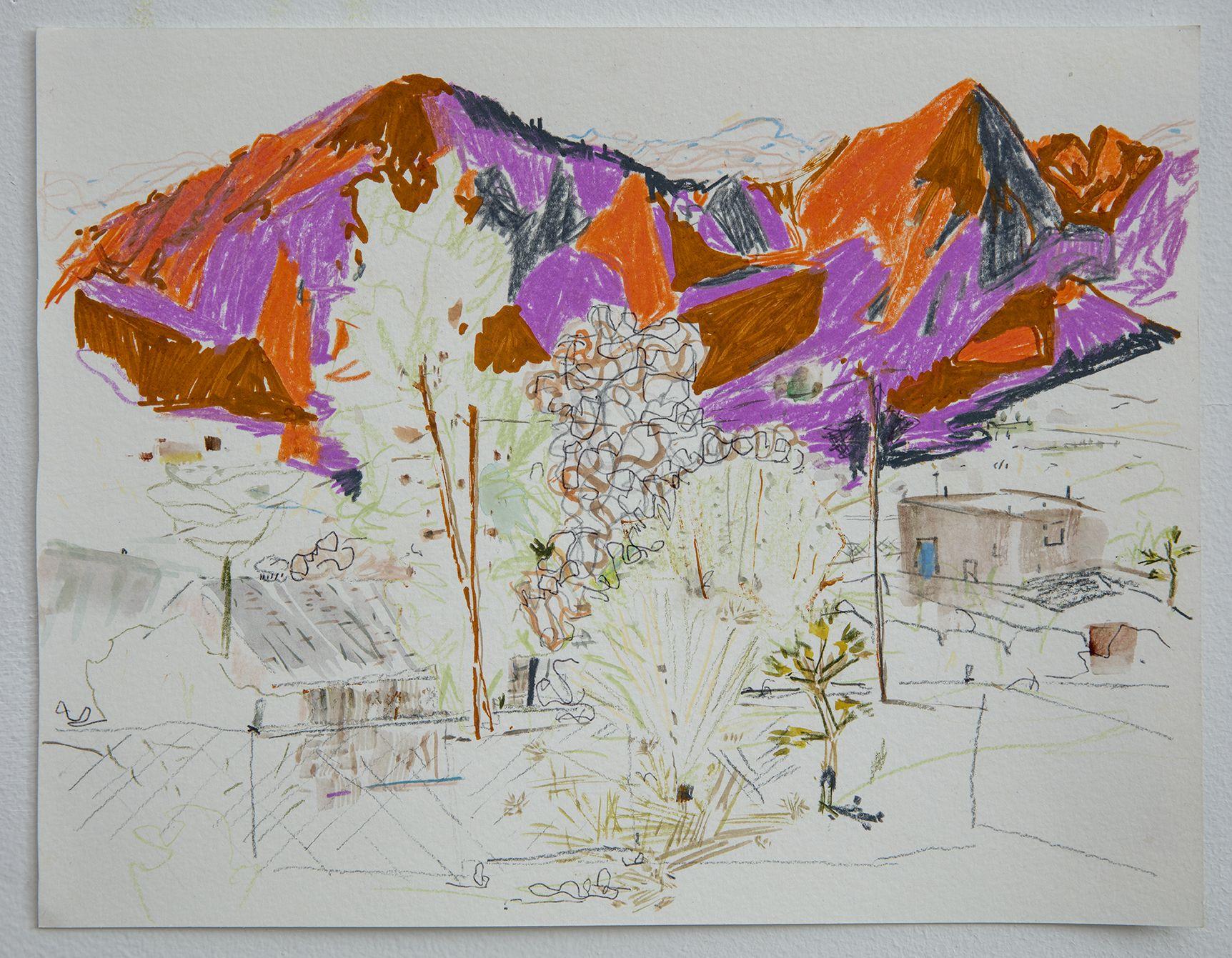 LISA SANDITZ, Mountain 3, 2016