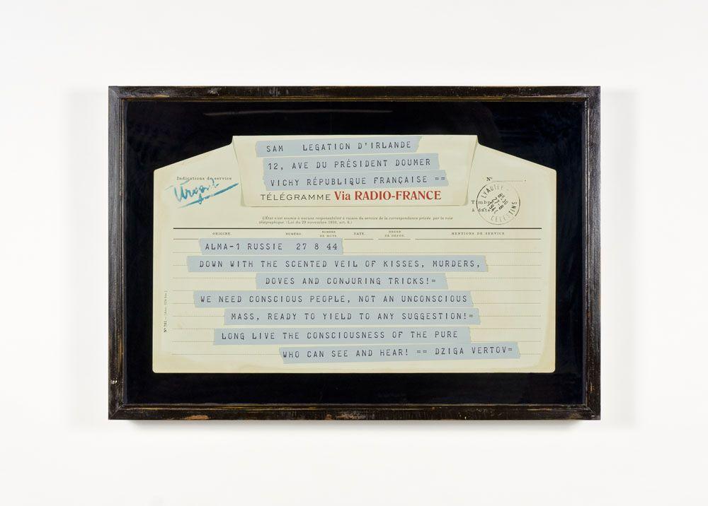 SKYLAR FEIN The Vertov Telegram of 1944, 2012