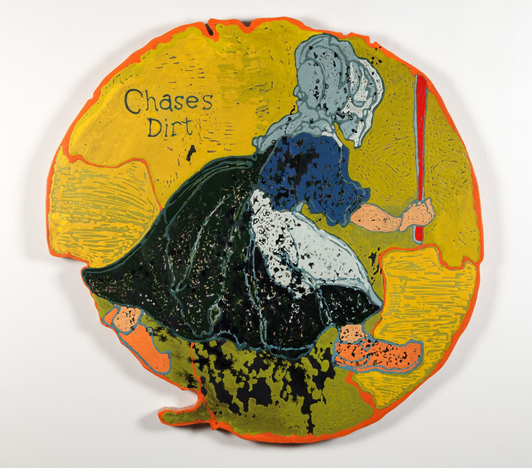 GINA PHILLIPS Chases Dirt, 2014
