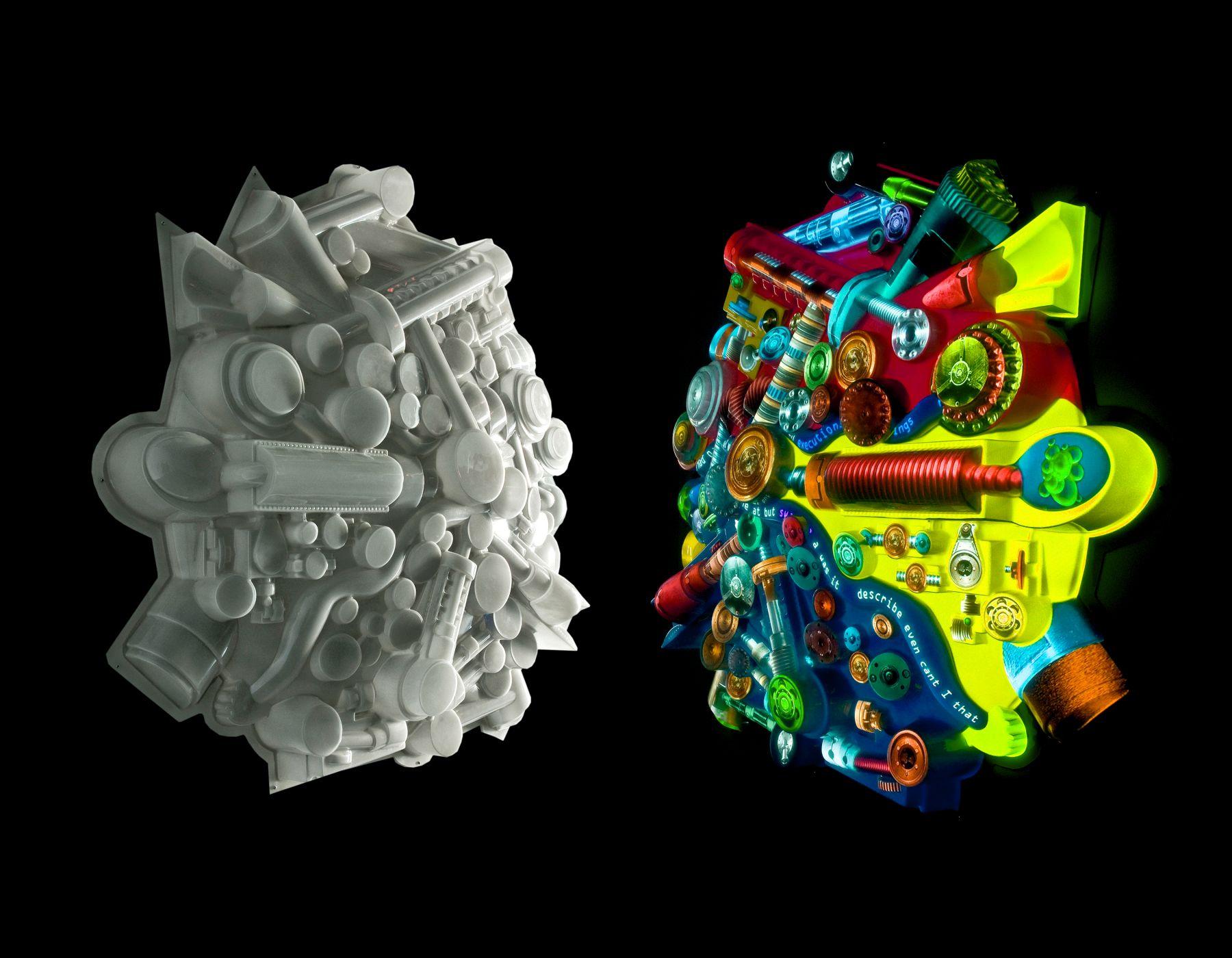 PETER SARKISIAN Extruded Video Engine (large version) #3, 2007