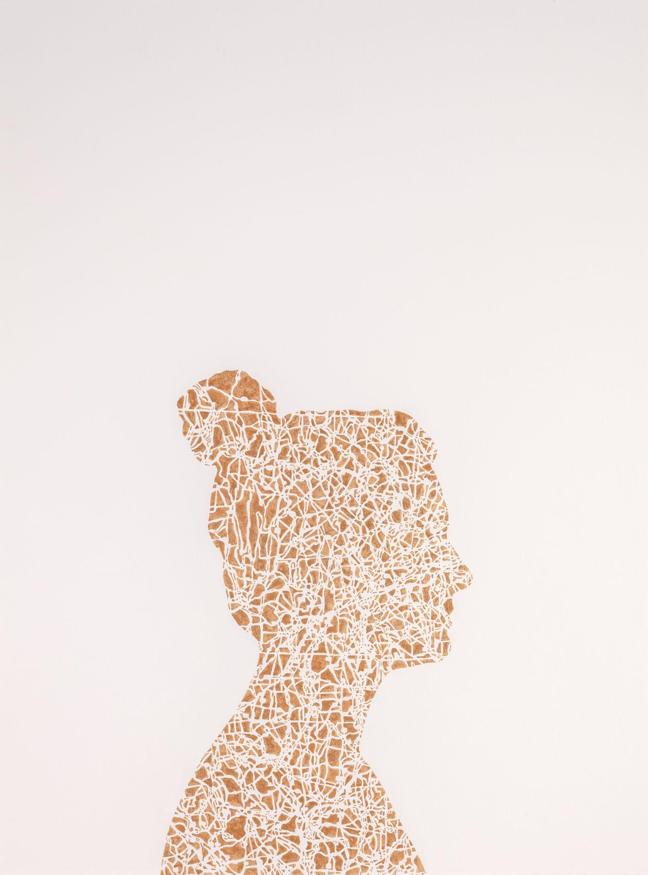 NIKKI ROSATO If I paint us (in gold) II.I, 2016