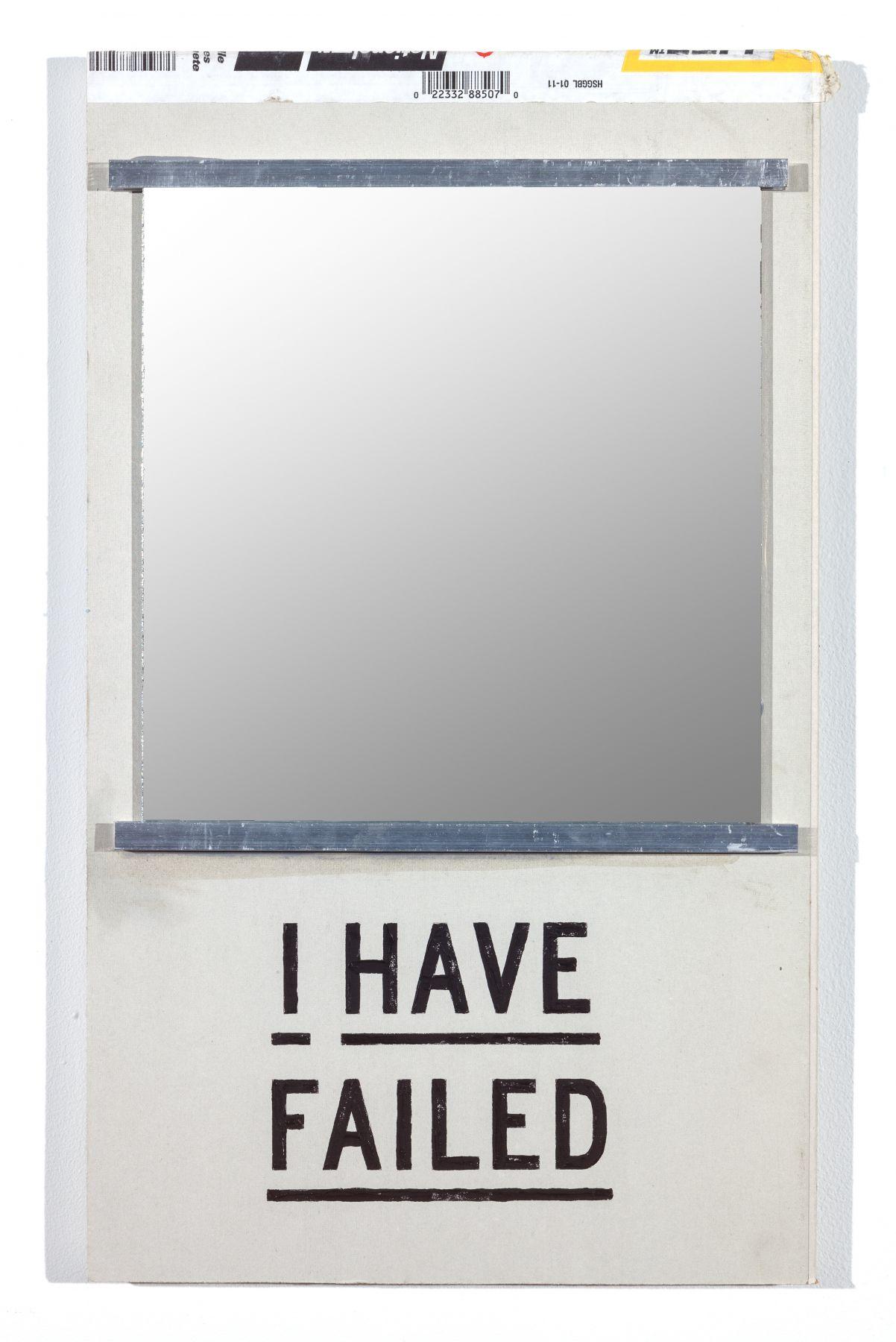 SKYLAR FEIN, I Have Failed (mirror), 2019
