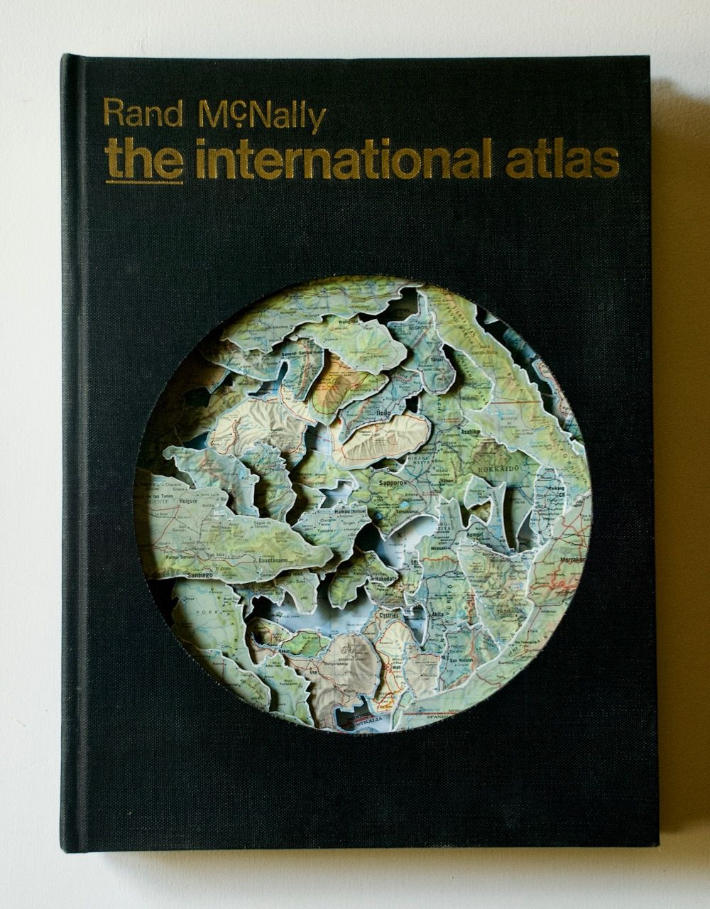 TONY DAGRADI, The International Atlas, 2020