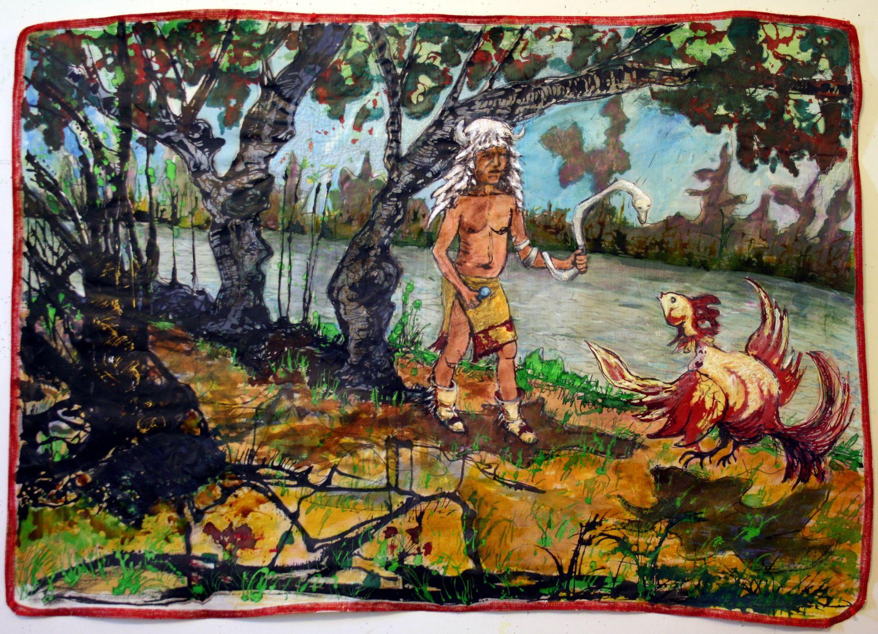 GINA PHILLIPS Mardi Gras Indian Myth #1, 2010