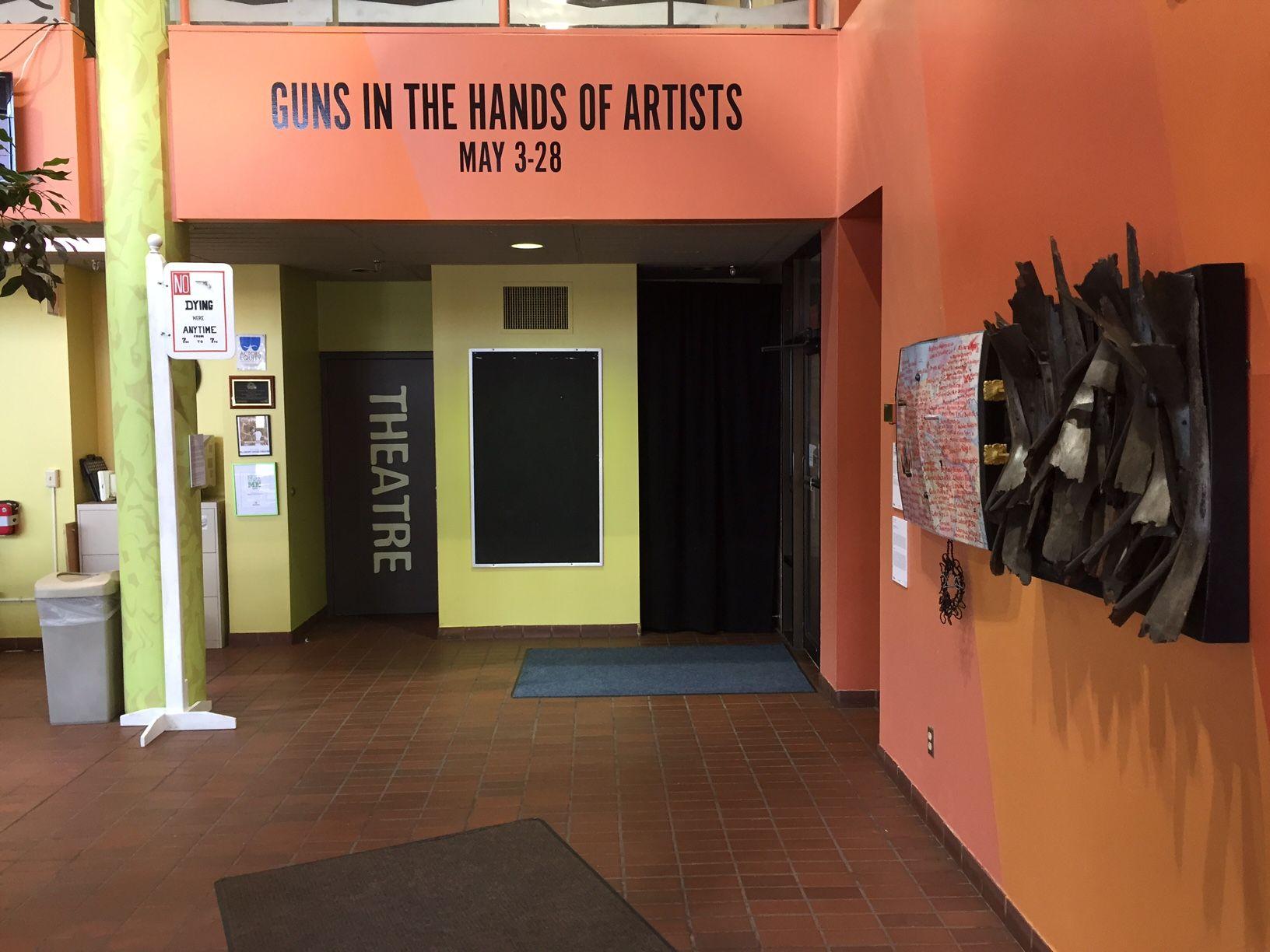 GUNS IN THE HANDS OF ARTISTS    Pillsbury United Communities