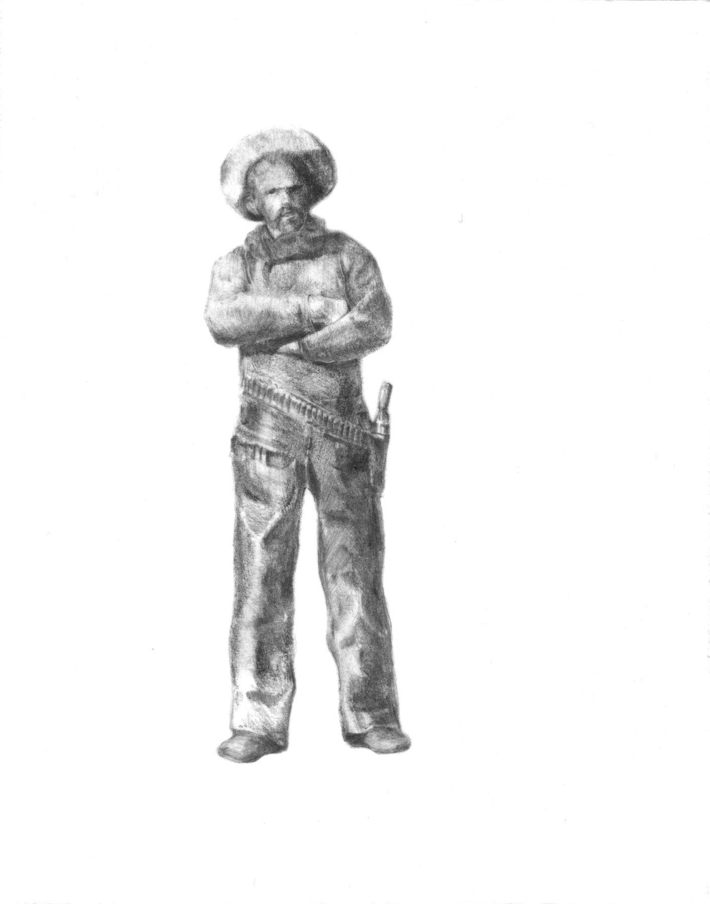 ADAM MYSOCK Cowboys Making Vowel Sounds - Ah, 2009