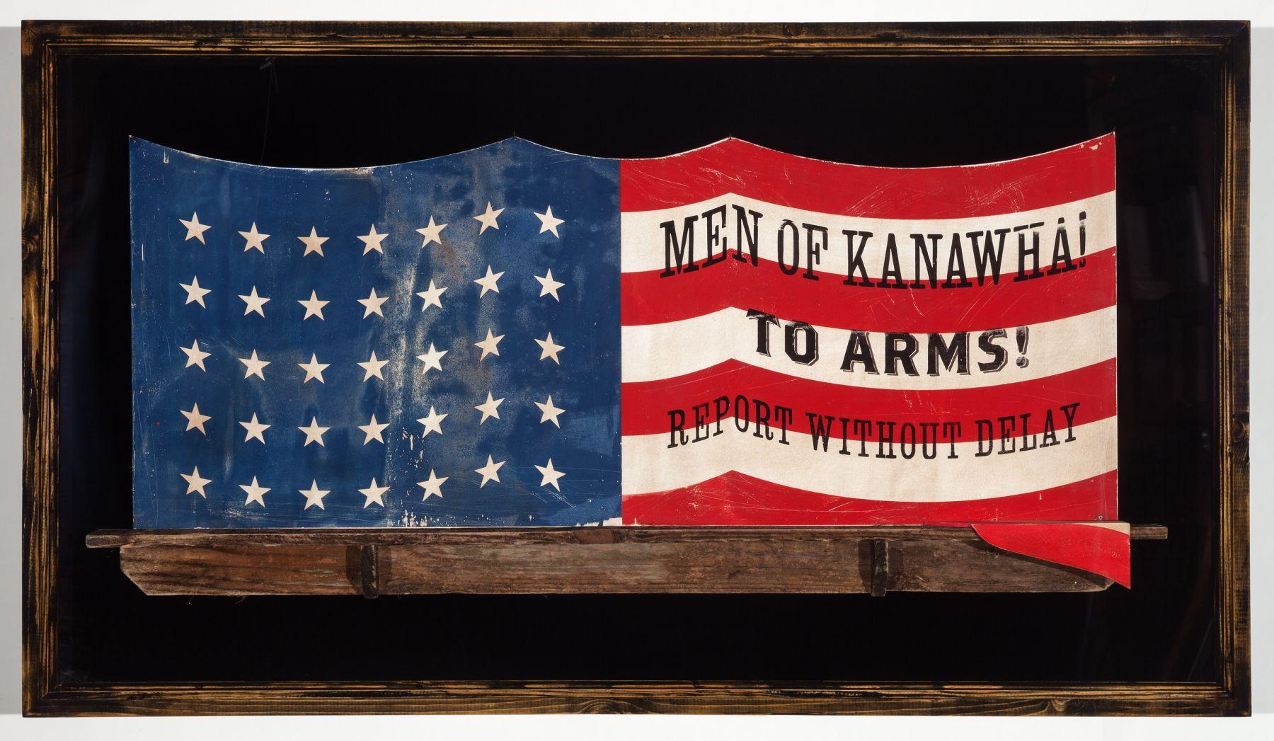 SKYLAR FEIN The Kanawha Flag, 2013