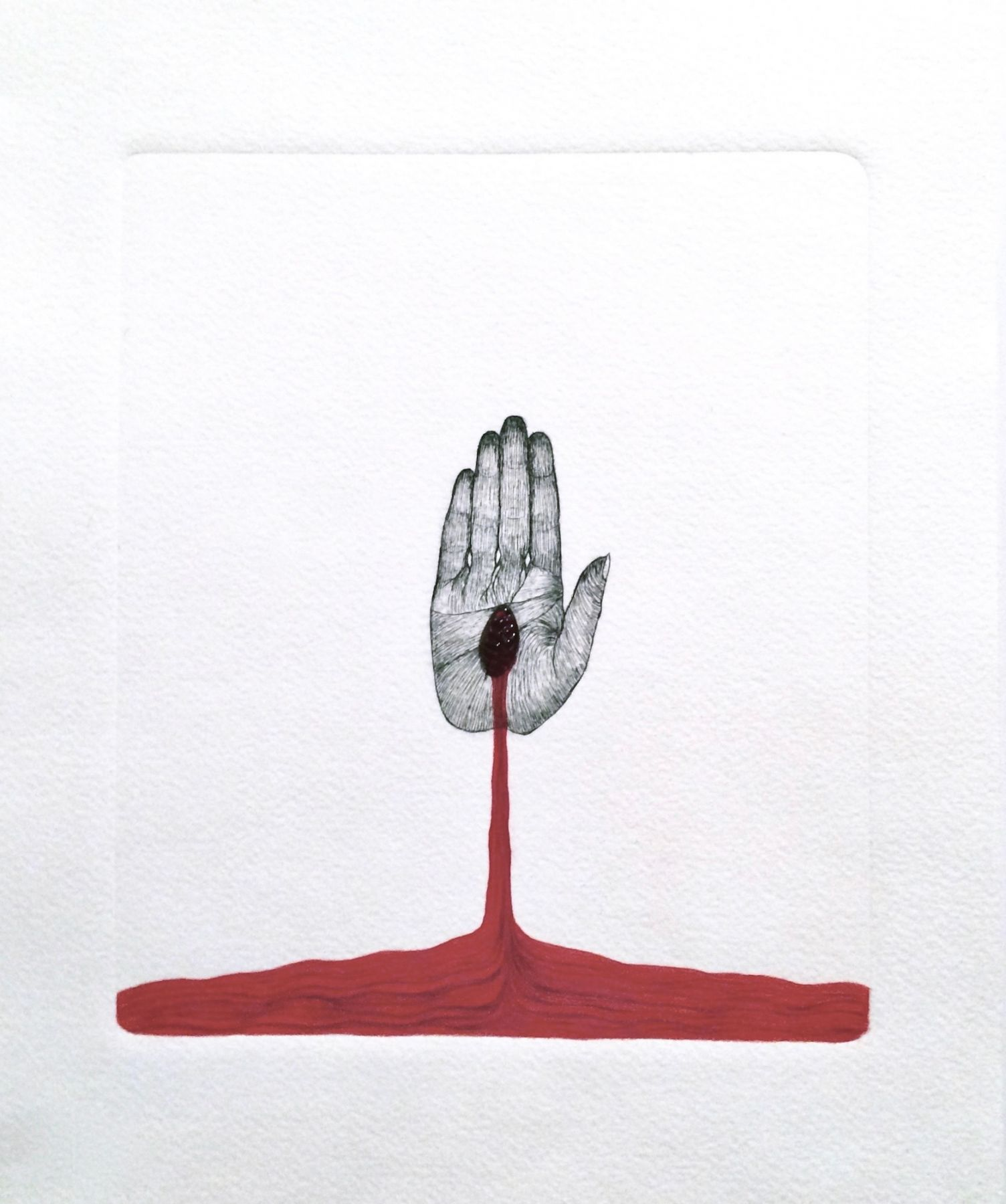 ESPERANZA CORTÉS, The Giving Hand, 2016