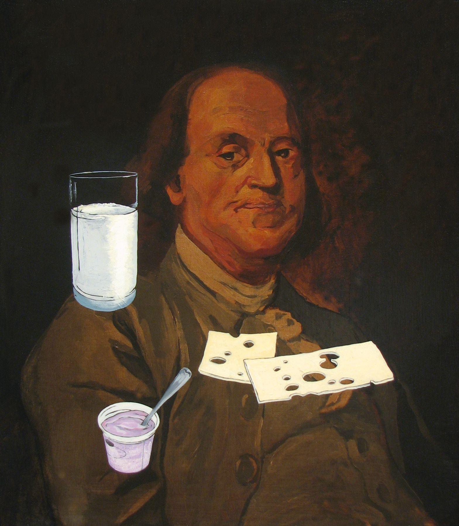 ADAM MYSOCK Franklin's Milk, Yogurt, and Cheese, 2009