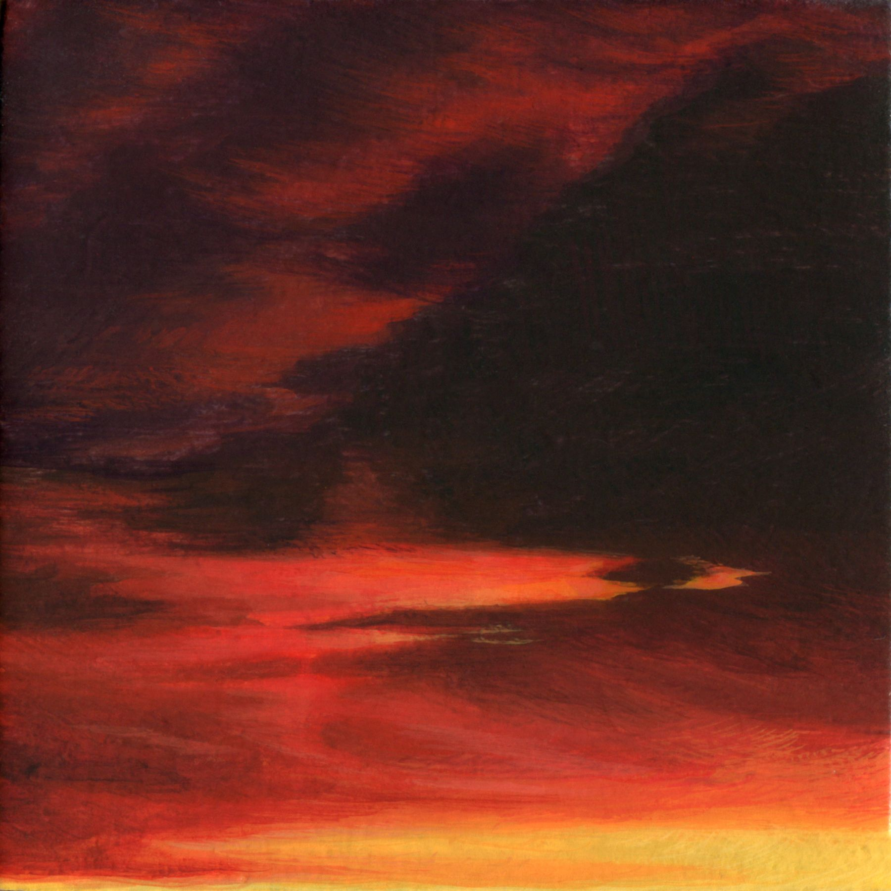 ADAM MYSOCK Red Sky in the Morning[Day One], 2017