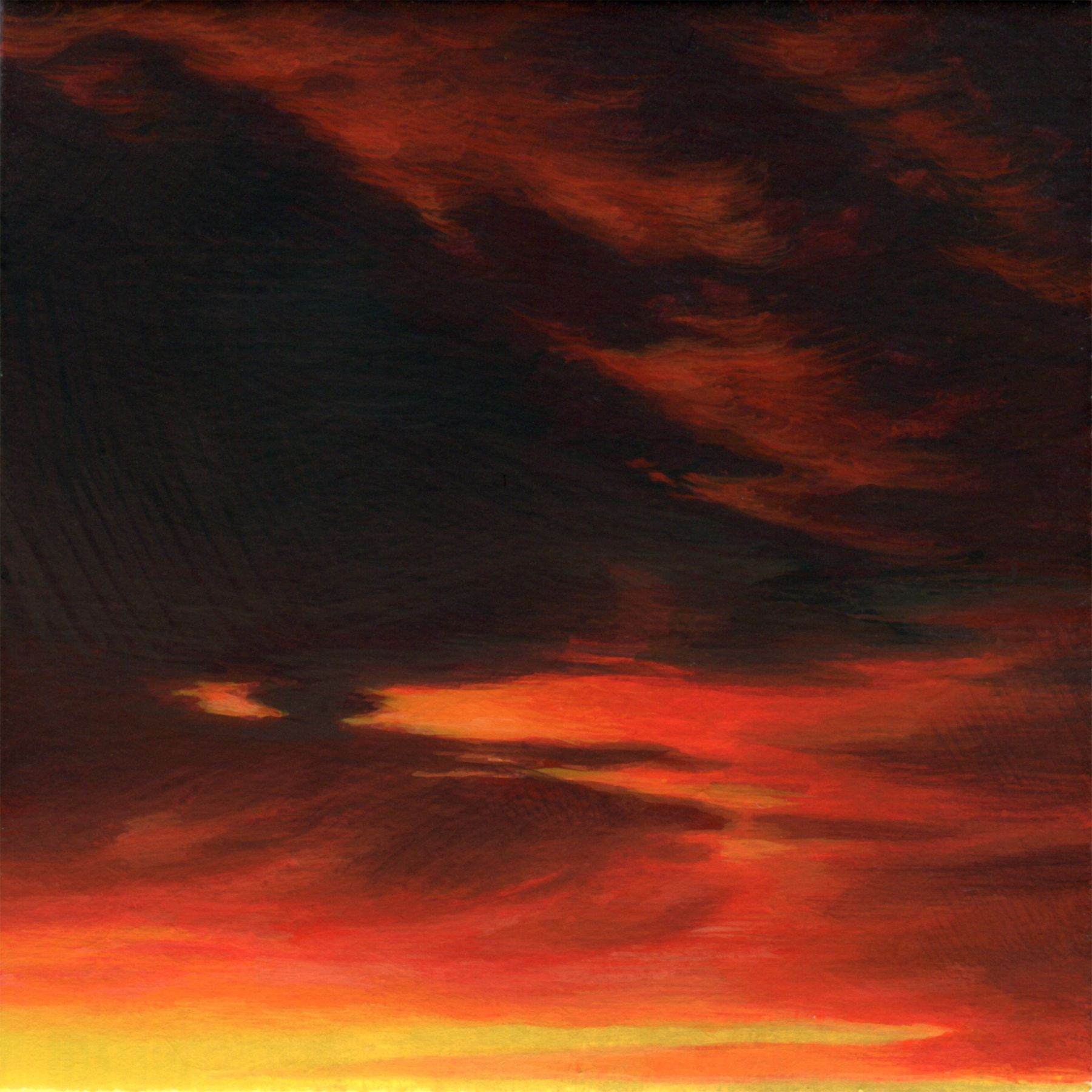 ADAM MYSOCK Red Sky in the Morning[Day Four], 2017