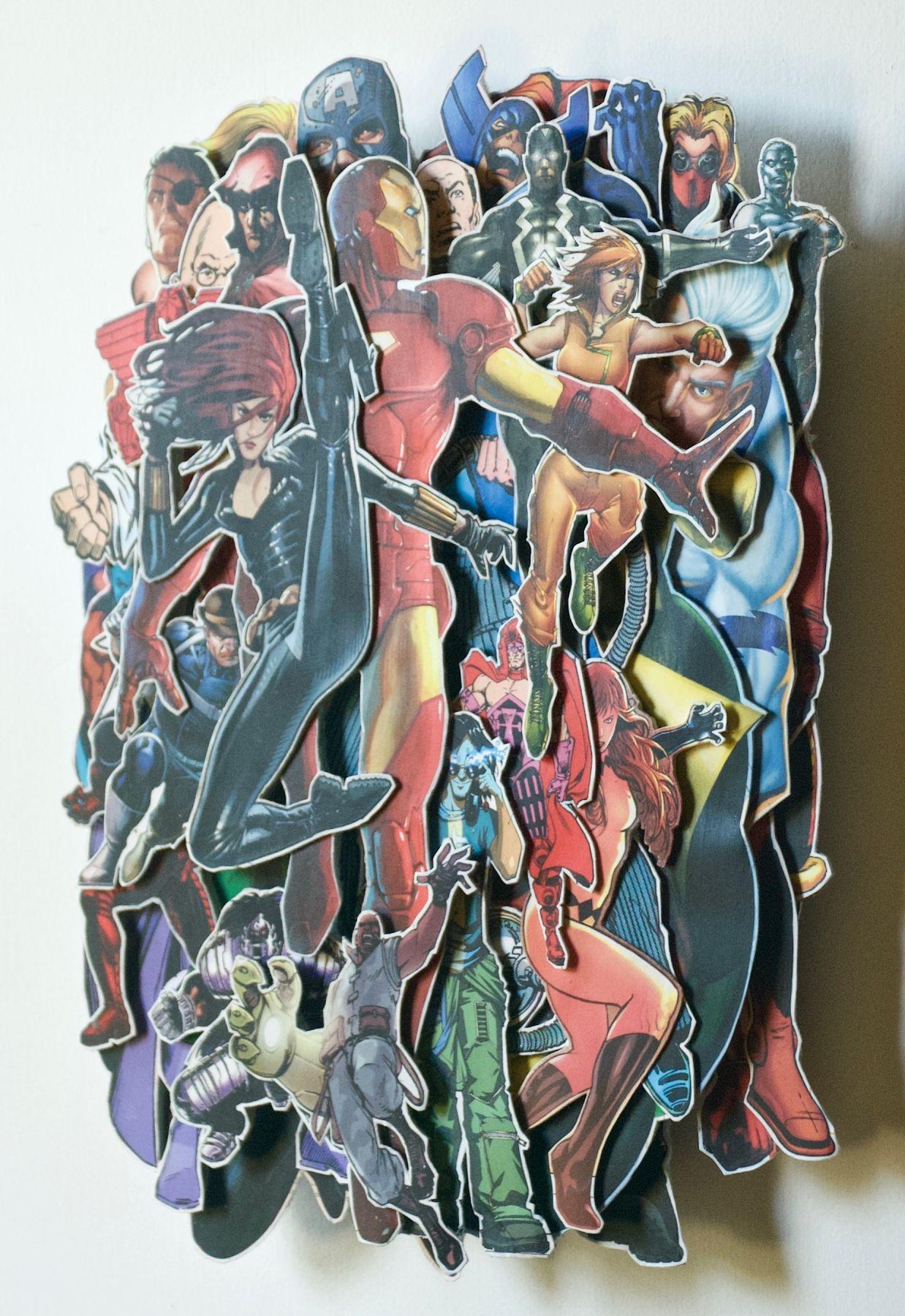 TONY DAGRADI, Iron Man(side view),2019