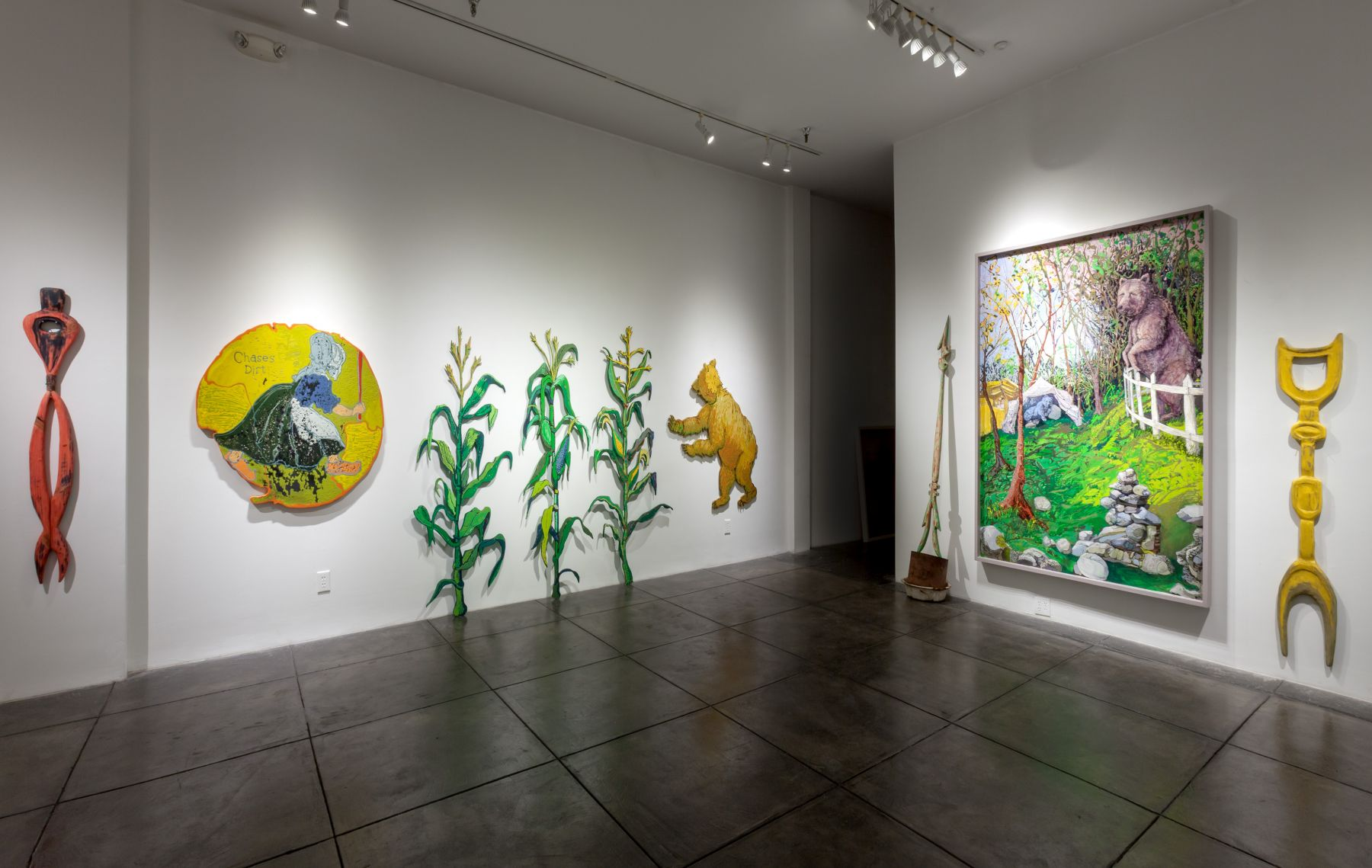 GINA PHILLIPS III Stronger Than Dirt, [Main Gallery Installation View]