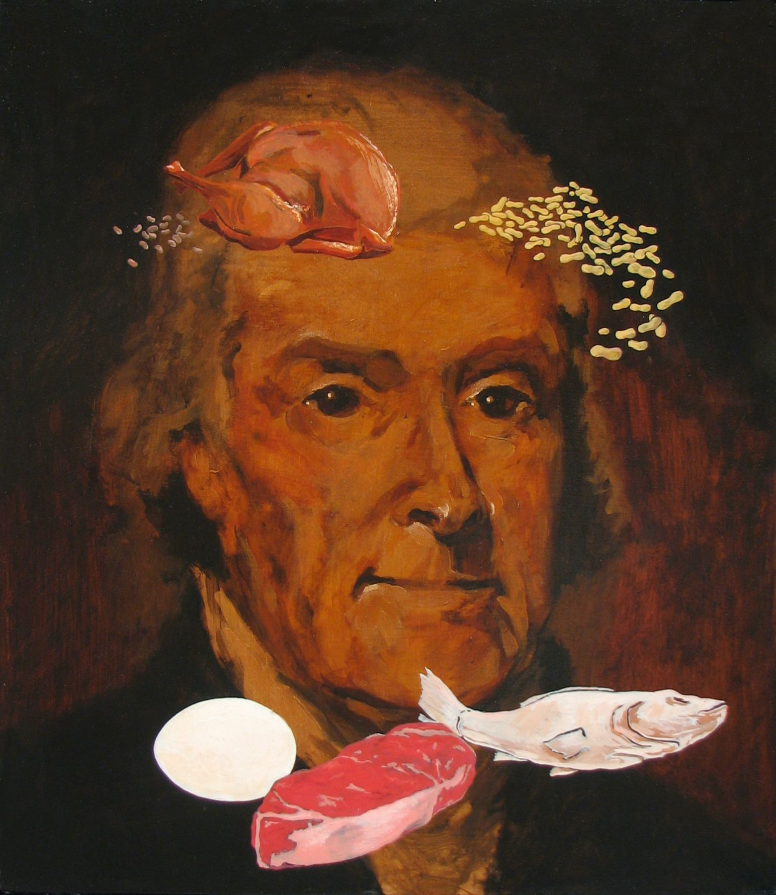 ADAM MYSOCK Jefferson's Meat, Poultry, Fish, Dried Beans, Eggs, and Nuts, 2009