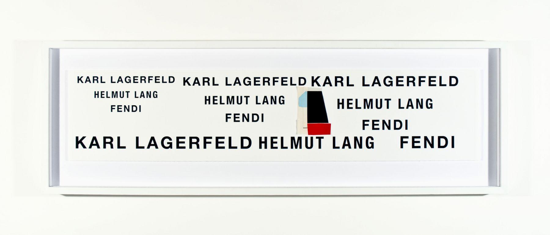 SKYLAR FEIN Karl Lagerfeld Helmut Lang Fendi, 2011