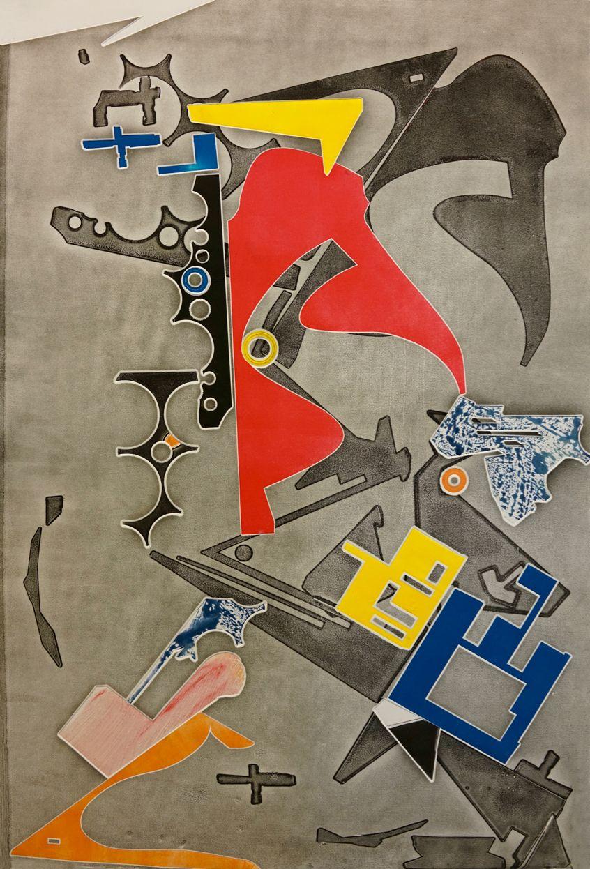 CARMON COLANGELO Eye Spy Composition #3, 2016