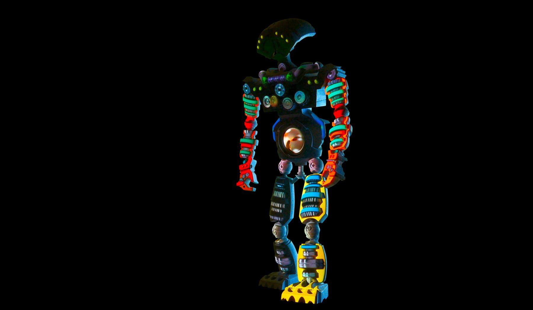 PETER SARKISIAN VideoMorphic Figure #6(Version 2) ON, 2013