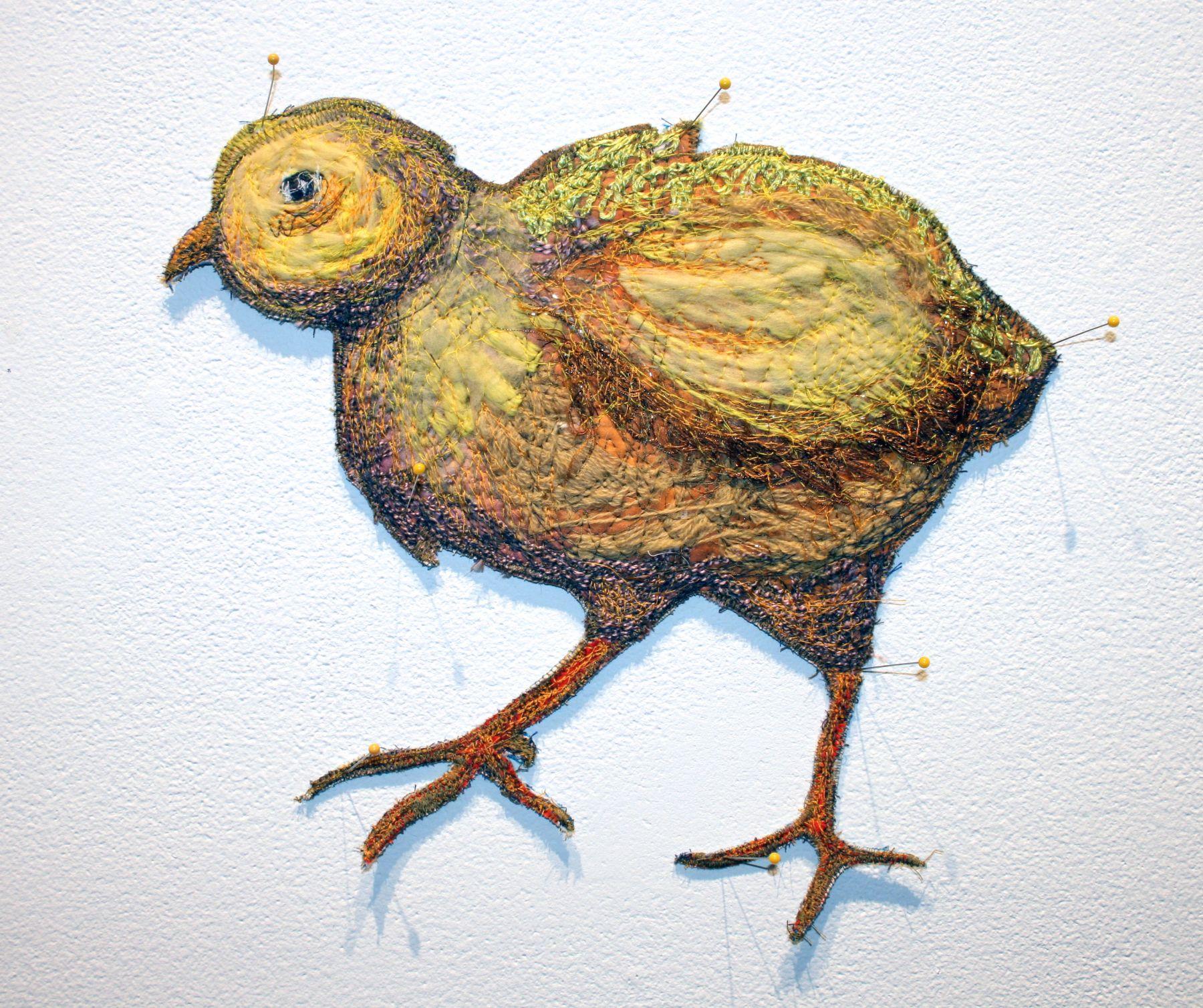 GINA PHILLIPS Wary-Eyed Chick, 2015