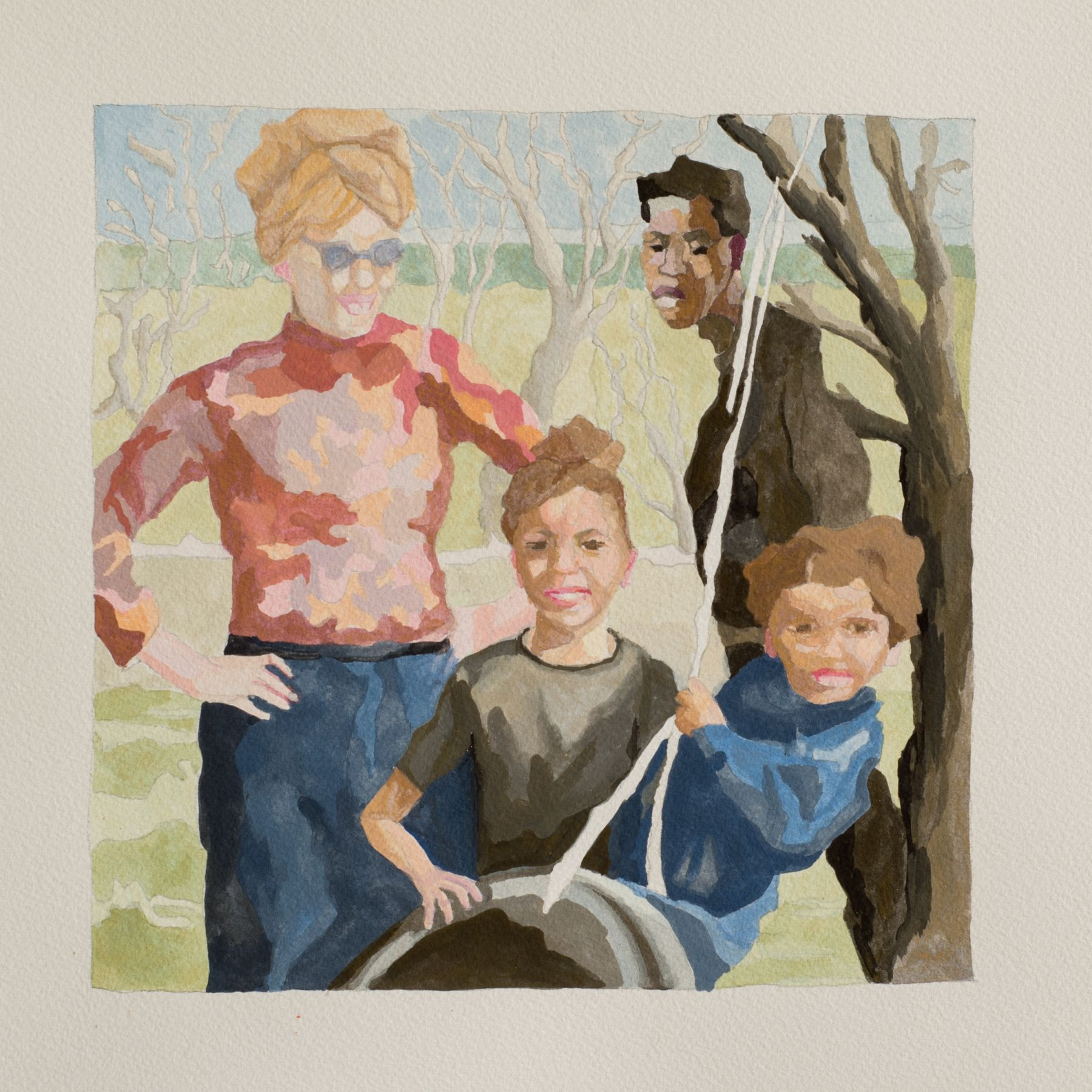 RUTH OWENS, Good Family, study, 2018