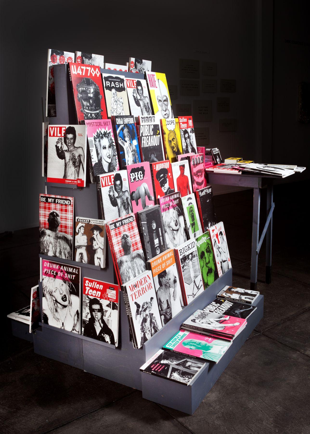 SKYLAR FEIN, Magazine rack for the New Barbarism, 2019