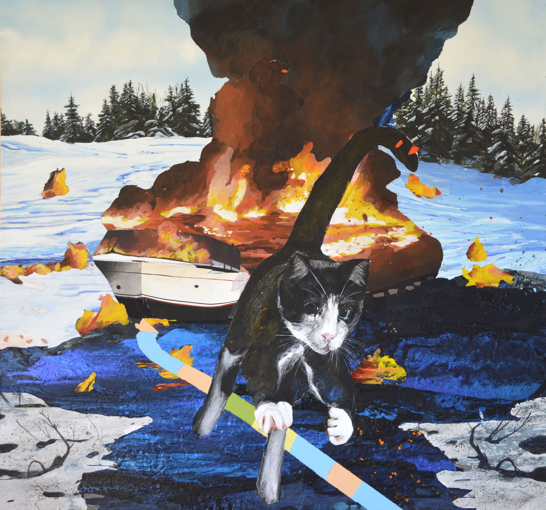 JENNY DAY, Small Fires, 2021